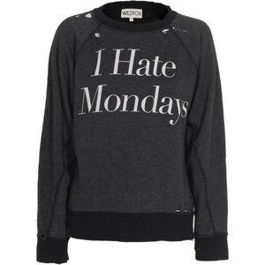 Wildfox I hate Mondays sweatshirt